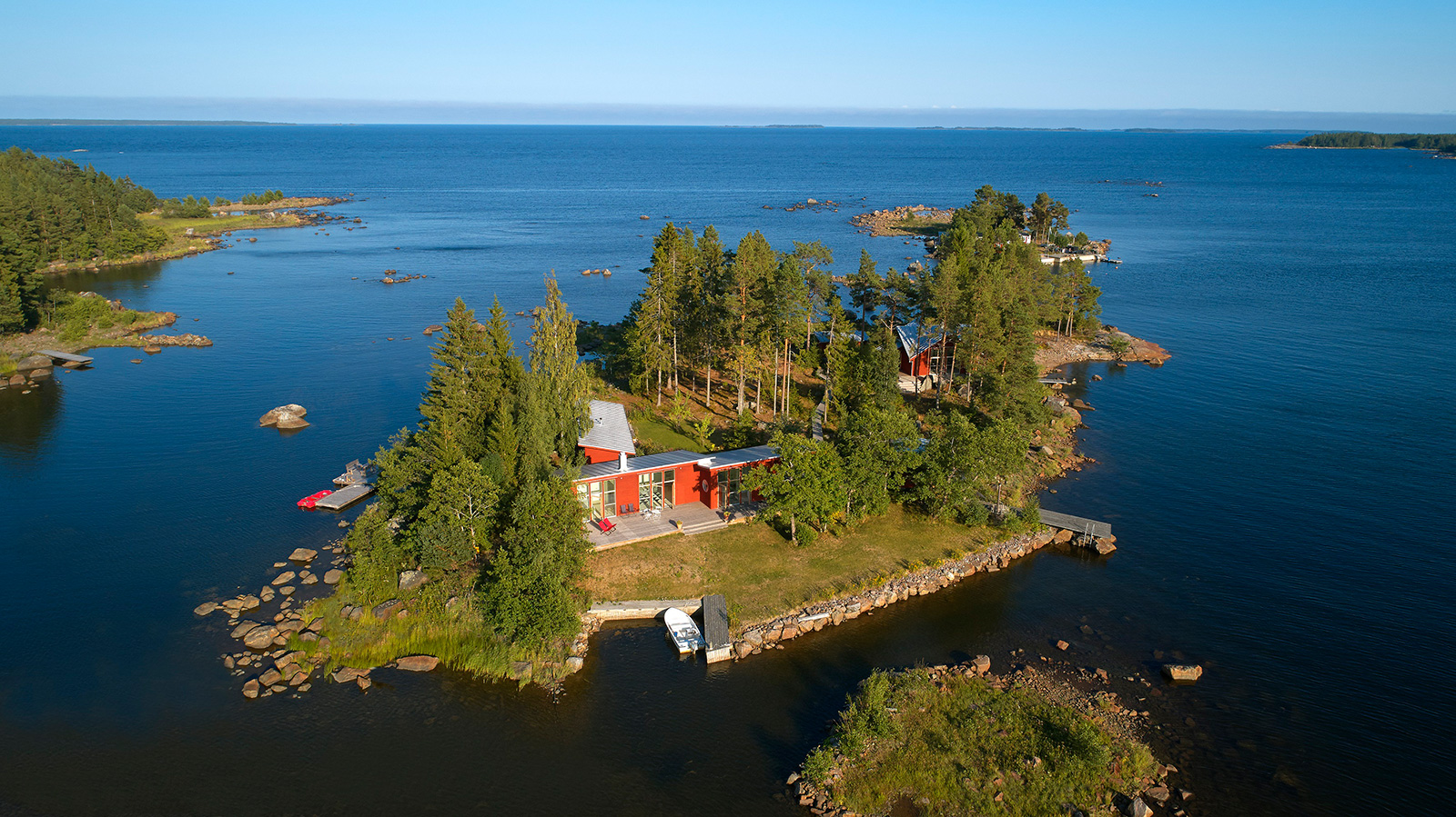 Private island for sale near Stockholm
