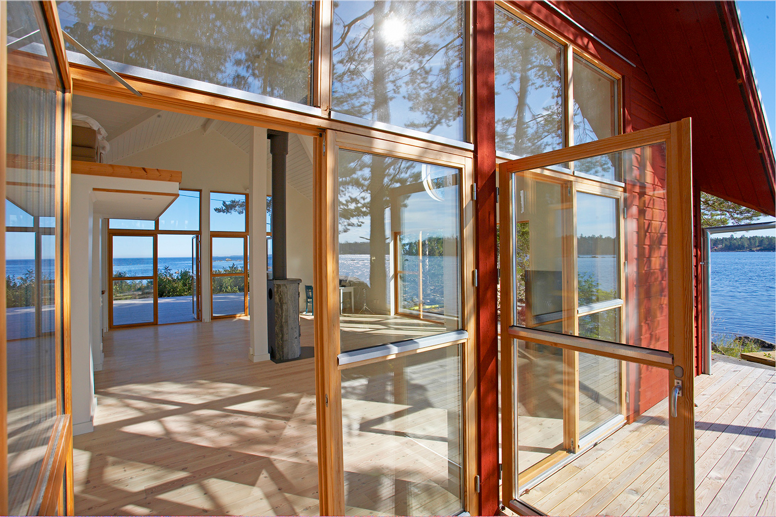 A private Swedish island with red cabin could be yours for 13.9m Kr