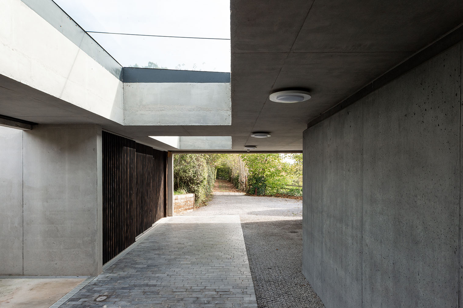 A RIBA-shortlisted brutalist home hits the market in the UK's Gloucester