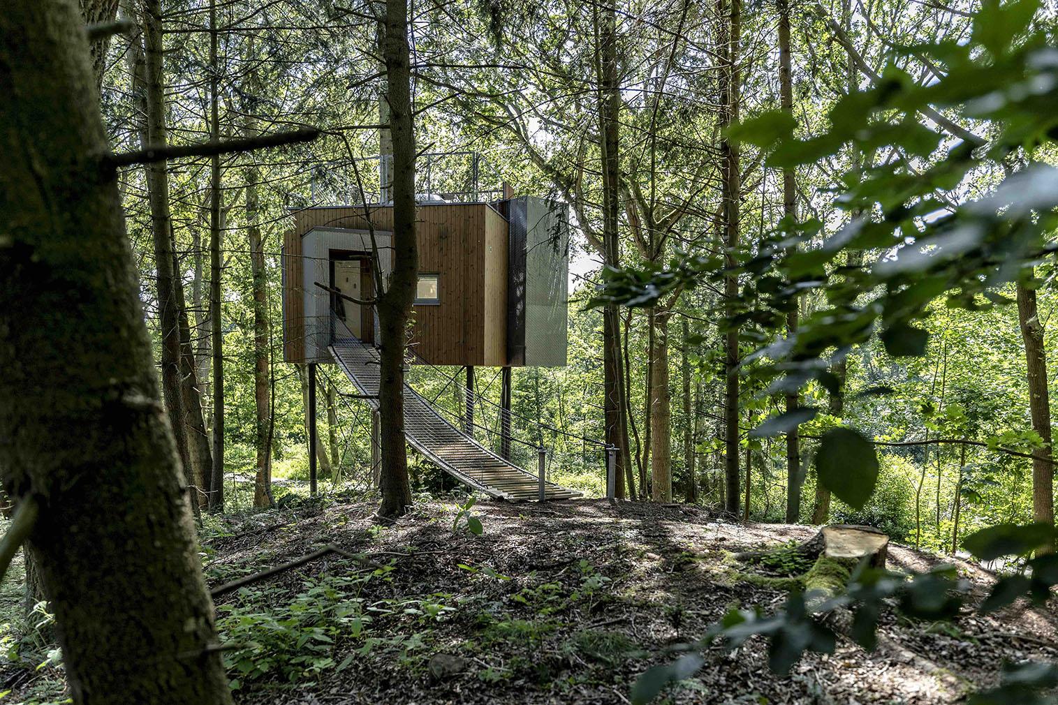 Lovotag treehouse hotel in Denmark