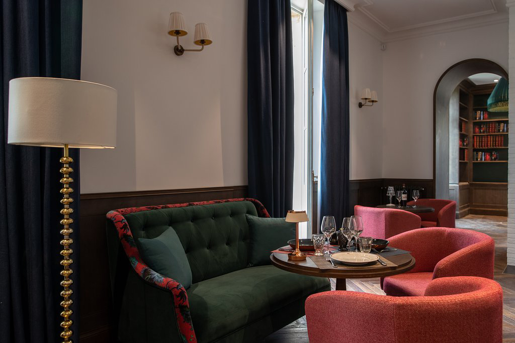 Grand French chateau La Maison d'Estournel has reopened as a hotel