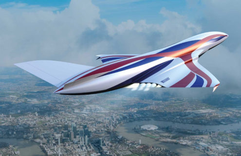 Soon you could be flying from London to New York in one hour