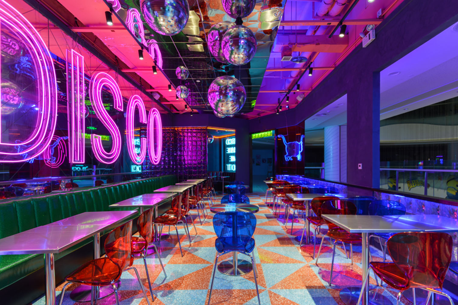 Inside China S Glowing Neon Restaurants The Spaces