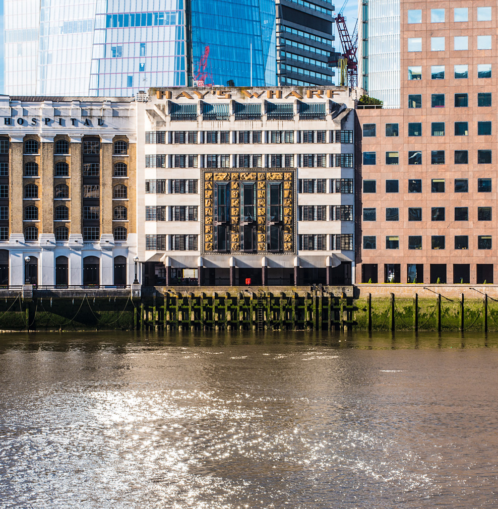 St Olaf's House, Hay's Wharf in London designed by architect Harry Stuart Goodhart-Rendel, (1930-32).