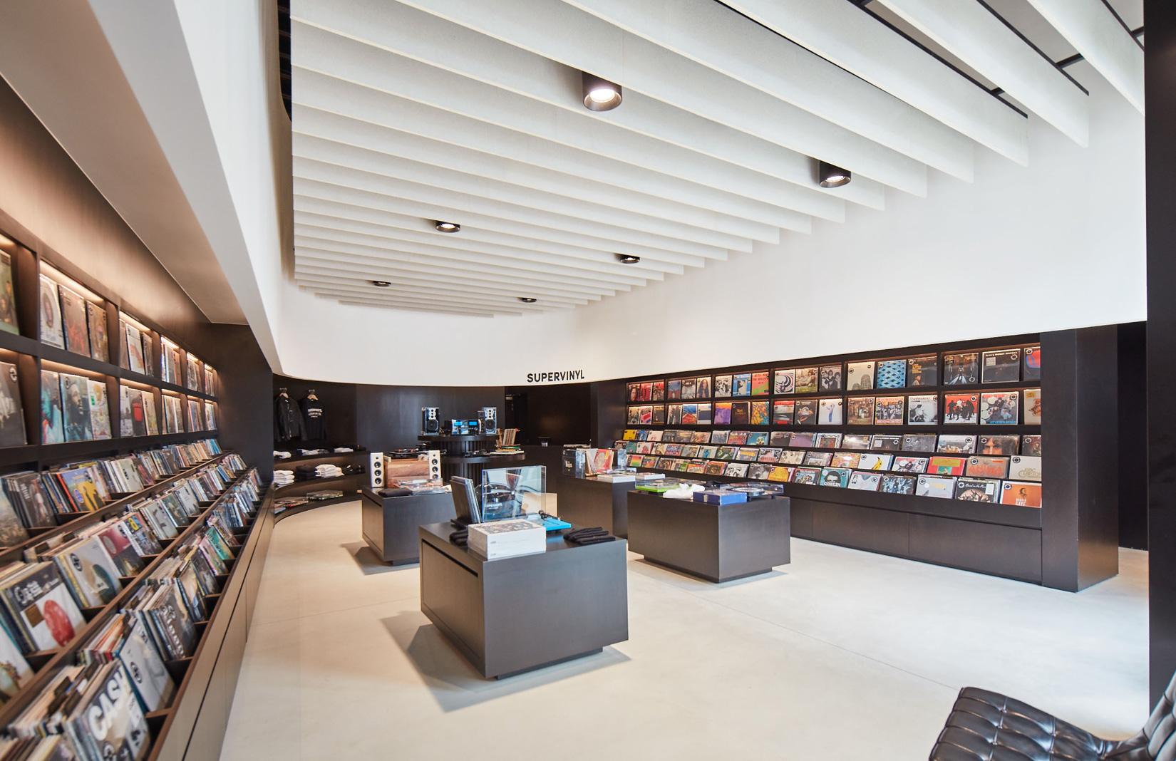 Hollywood vinyl record store Supervinyl