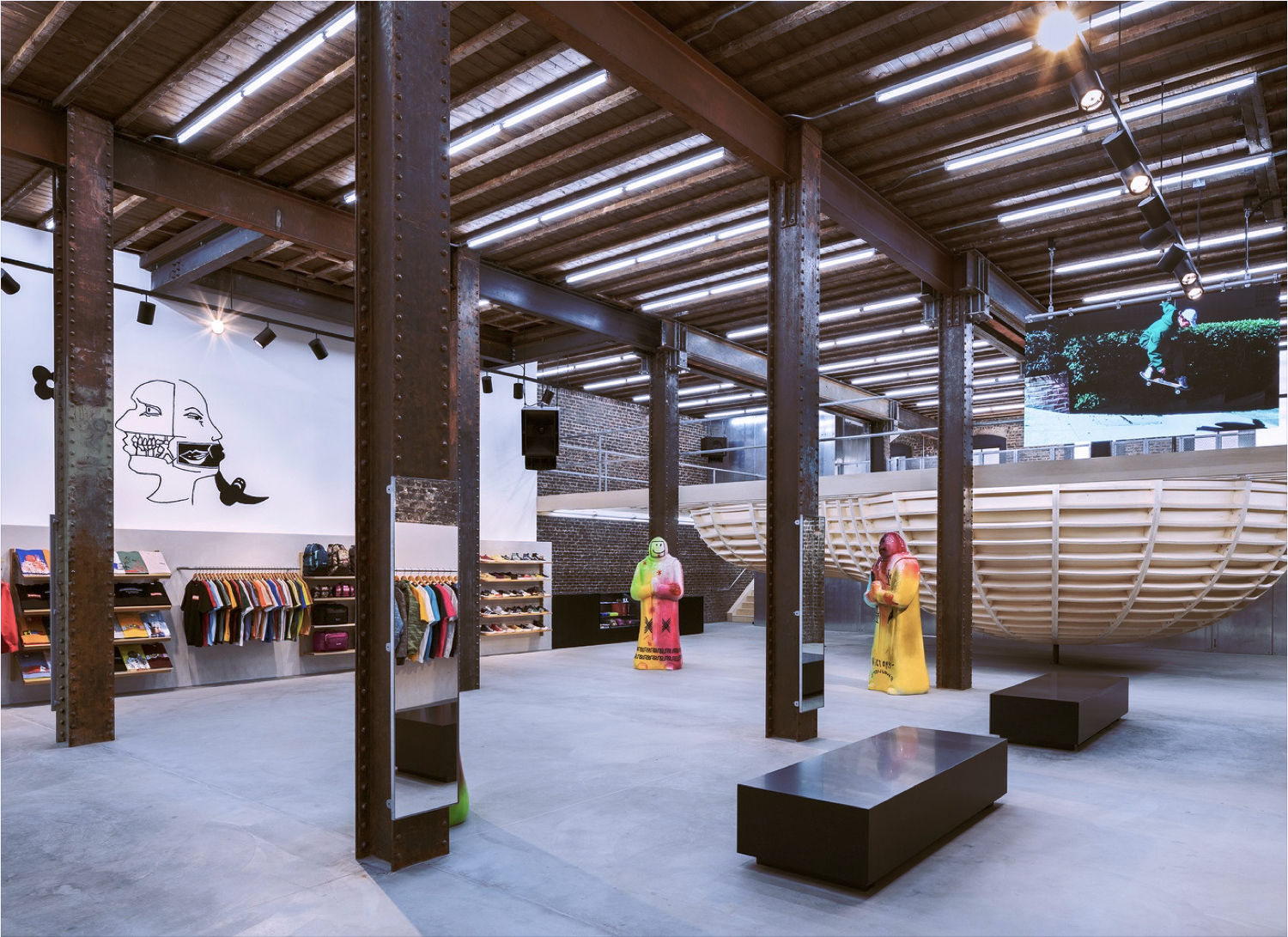 Inside Supreme's new San Francisco outpost – a 1915 brick building on Market Street