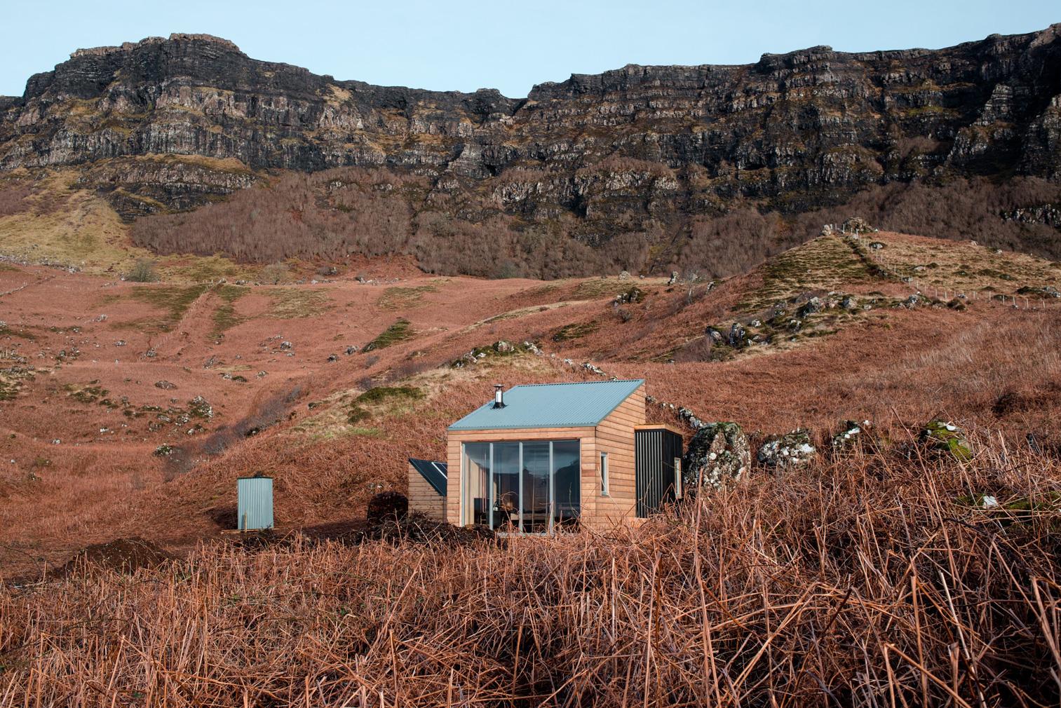 Sweeney's Bothy on the Isle of Eigg