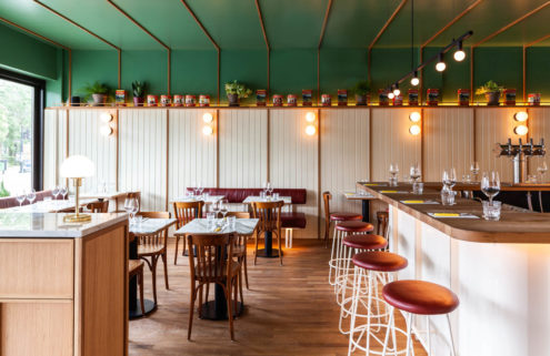 Montreal's Vesta restaurant is a 1970s inspired pizzeria