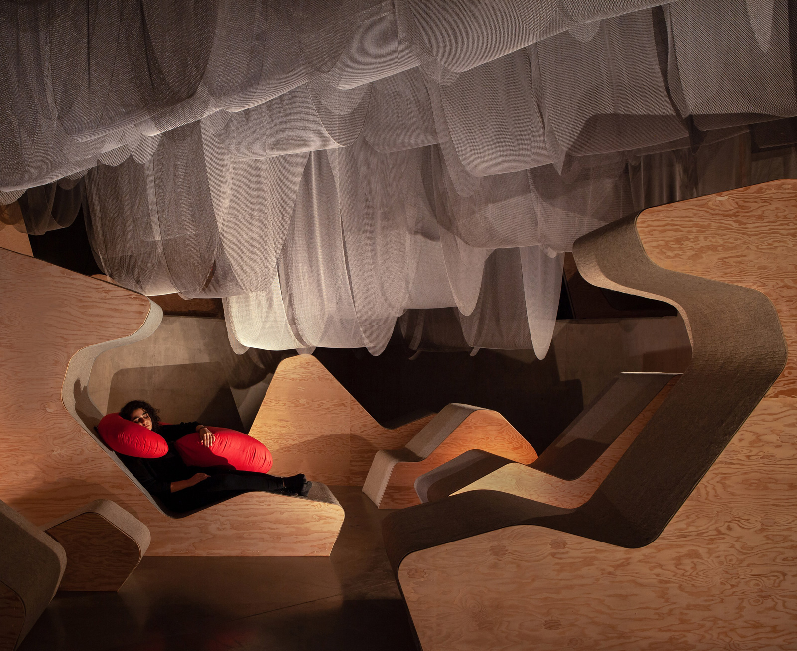 New Circadia (adventures in mental spelunking) is the inaugural installation at the new Architecture and Design Gallery – Daniels Faculty of Architecture, Design and Landscaping