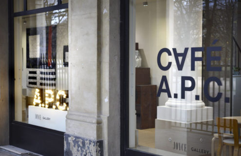 A.P.C.'s café opens in Paris – but don't expect much choice from the menu