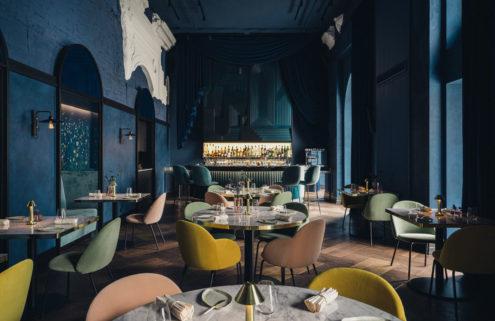 Warsaw restaurant Epoka is a jewellery box of colours