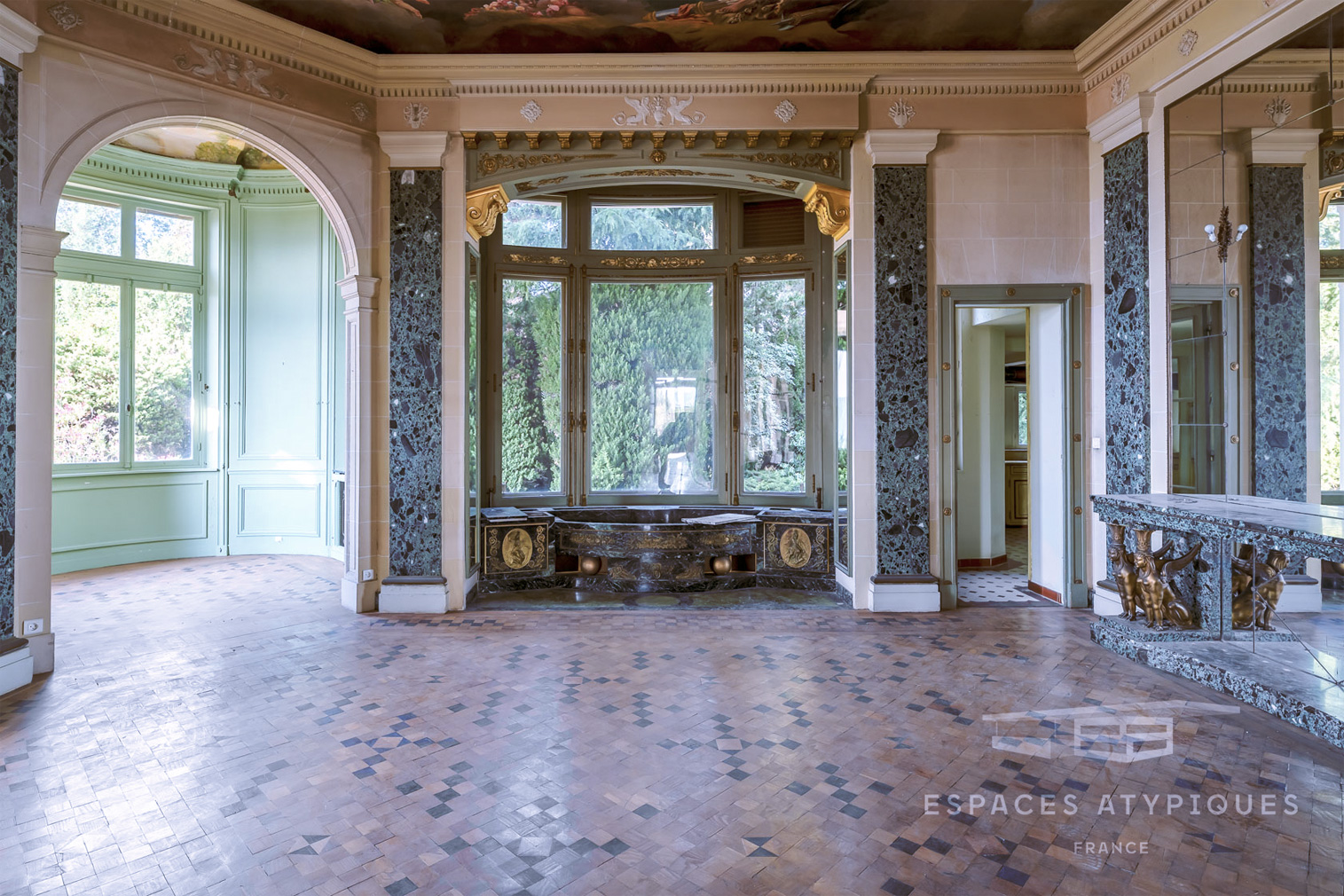 Frescoed French Riviera Apartment Lists For 1 38m The Spaces