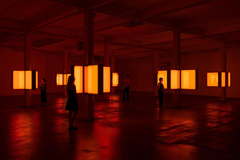 Phillip K Smith III's 10 Columns installation