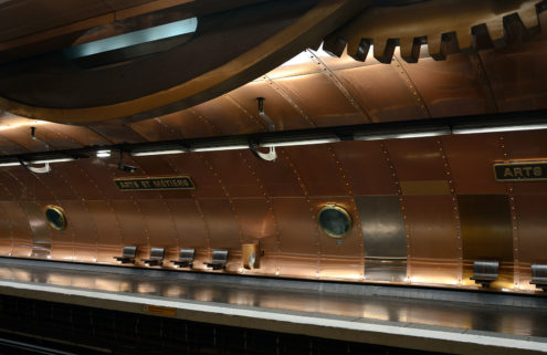 Take an architectural tour of the Paris Métro system