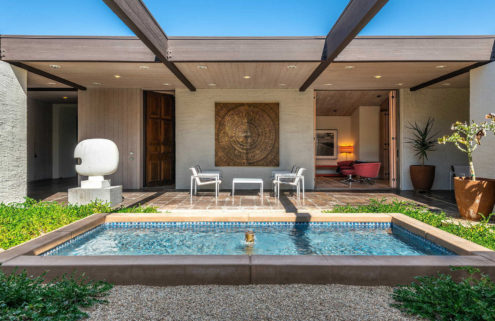 William Cody's sprawling Rubinstein House hits the market in California