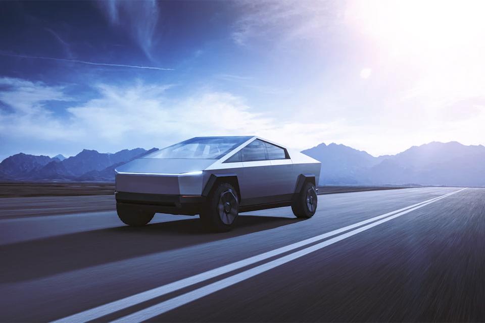Tesla's new Cybertruck looks like a Mars Rover