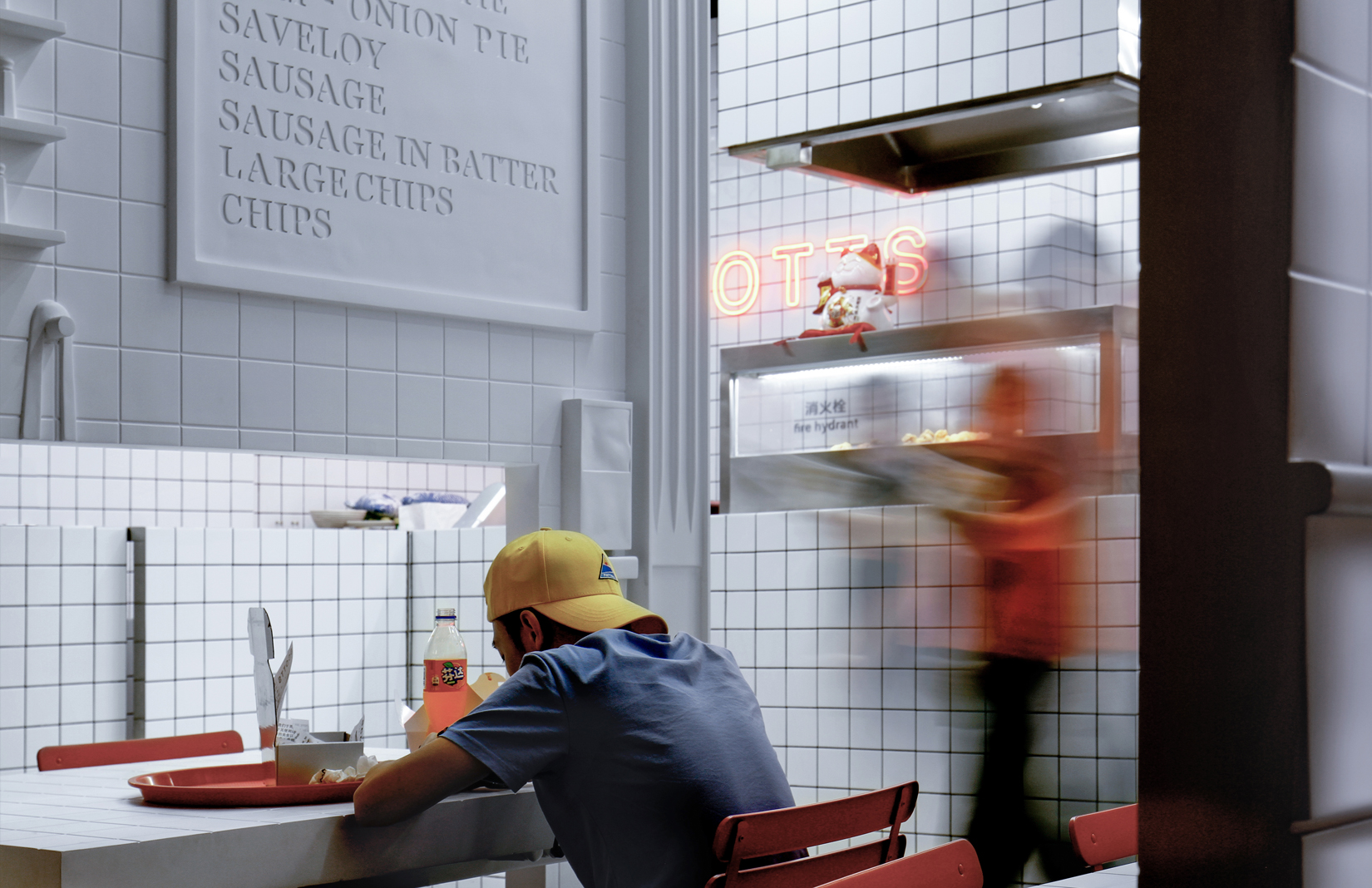 China S Version Of The Classic British Chip Shop Isn T What You Might Expect The Spaces
