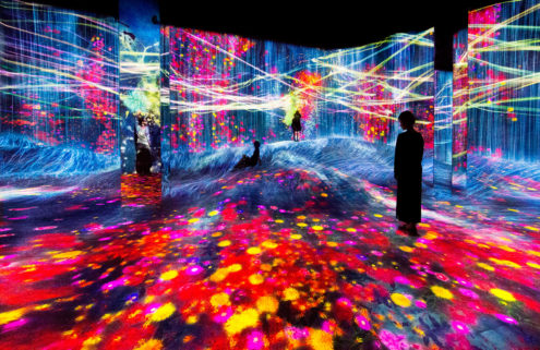 TeamLab has opened its surreal Shanghai digital art museum