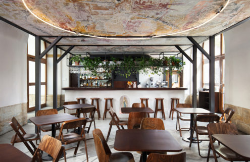 This Olomouc cafe is an irreverent take on the city's Jesuit history