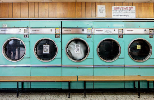 How London's launderettes offer a snapshot of a city in flux