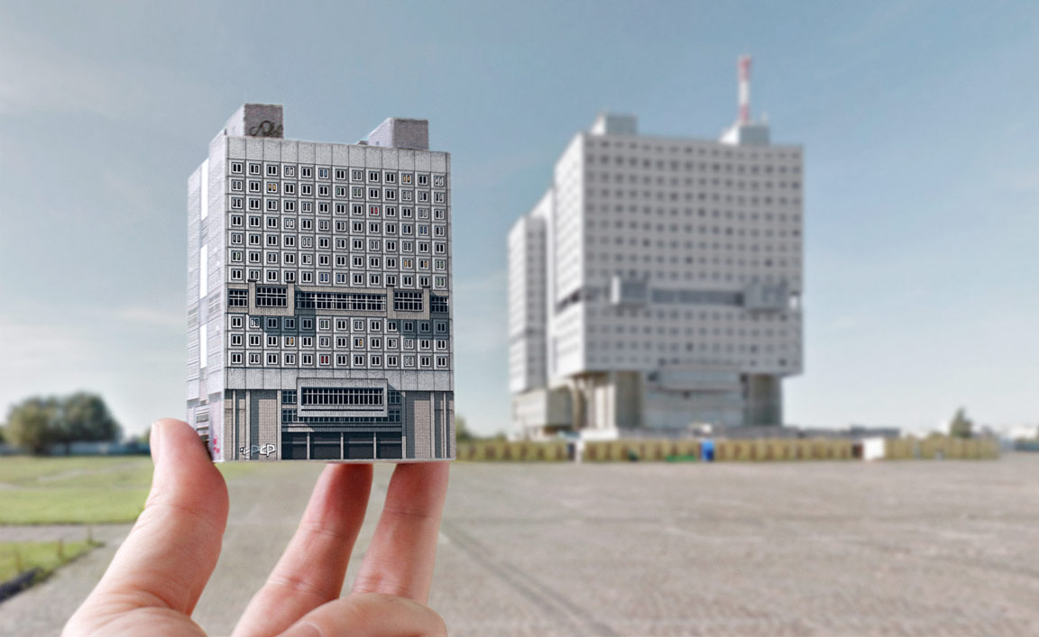 Build your own Brutalist Eastern Bloc book