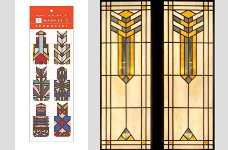Frank Lloyd Wright bookmarks