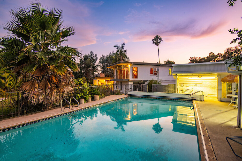 Midcentury California home with soaring garden room lists for $1.68m