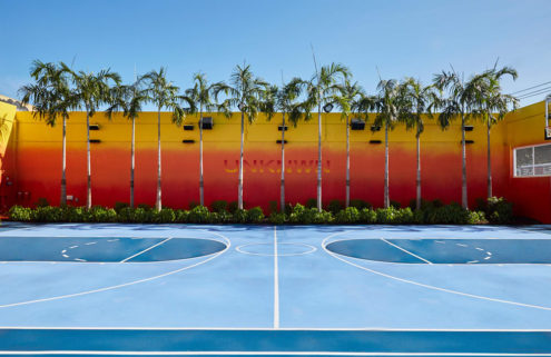 UNKNWN opens its flagship Miami store – complete with a full-size basketball court