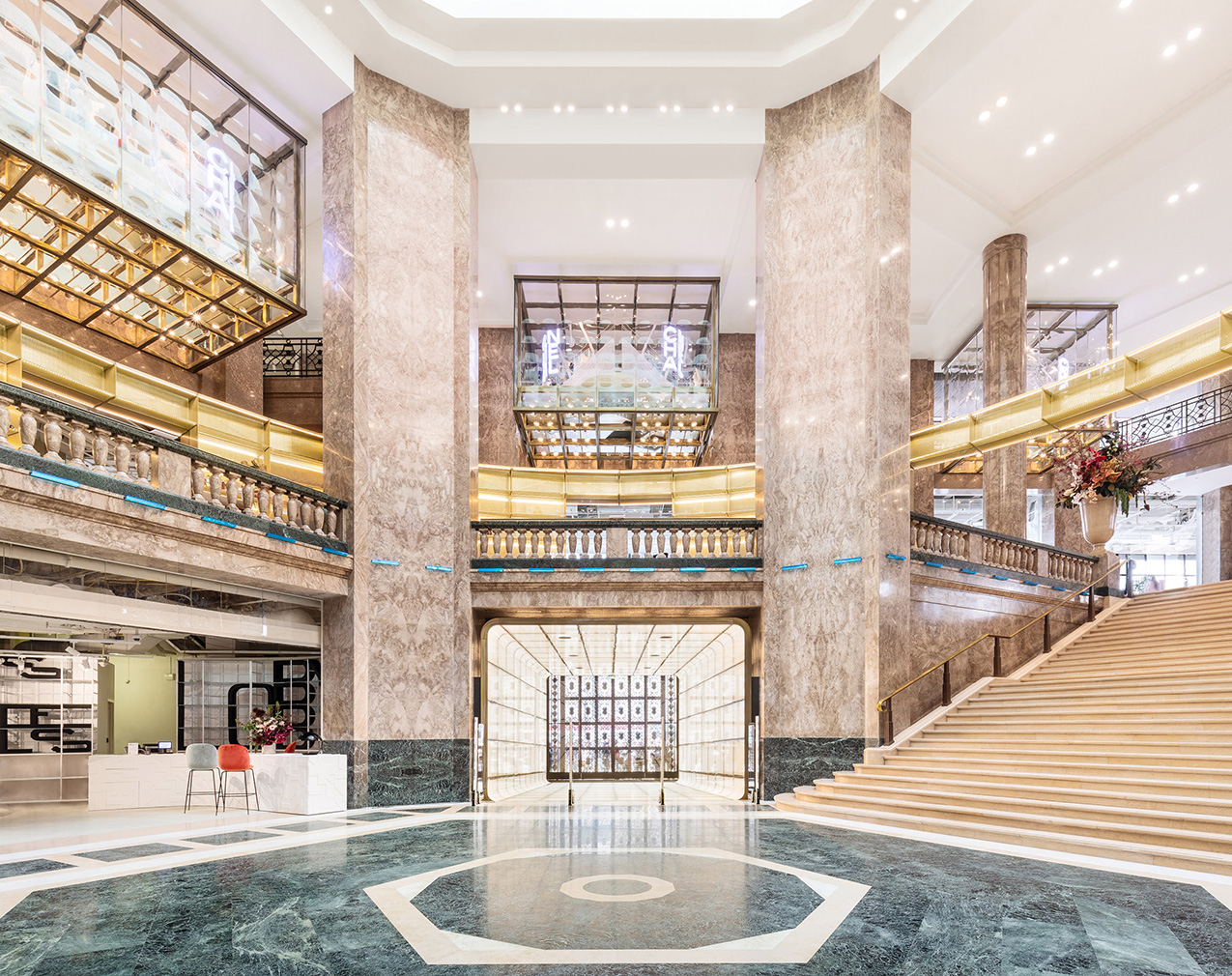 The most innovative adaptive reuse projects of 2019: Galeries Lafayette
