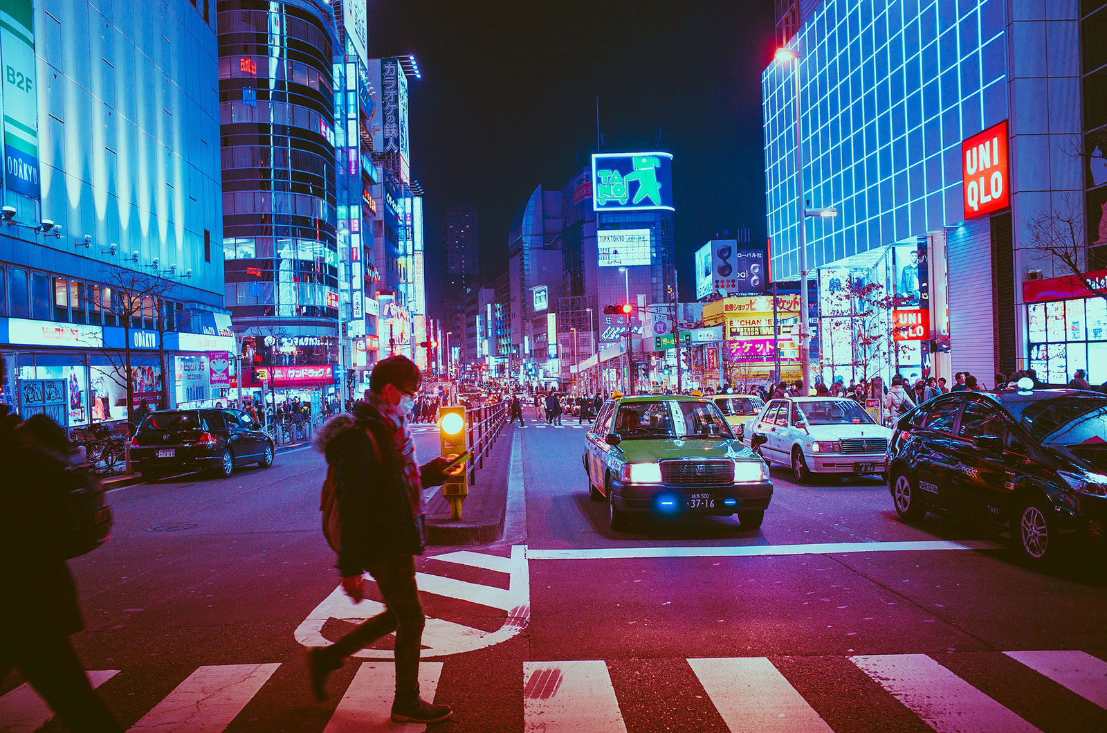 Osaka's bustling downtown pictured at night. The city is one of the fastest growing economic hubs in Japan, and is looking to put itself on the map over the coming decade