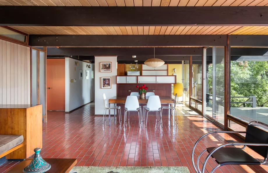 Architect's 'mint-condition' midcentury home is renting for $7k in California's Eagle Rock