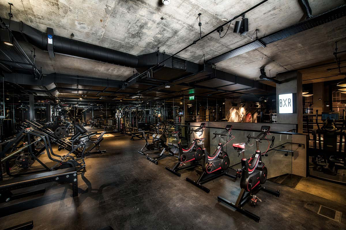 Gyms that raise the bar for design: BXR London