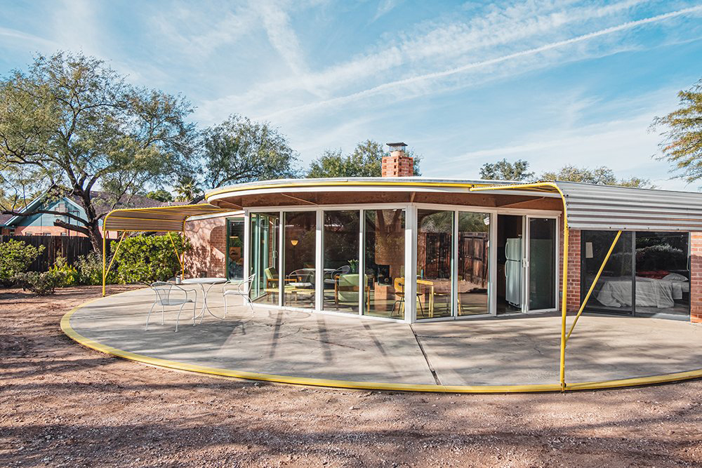 Spend the night at pioneering Arizona 'solar home' Ball-Paylore House