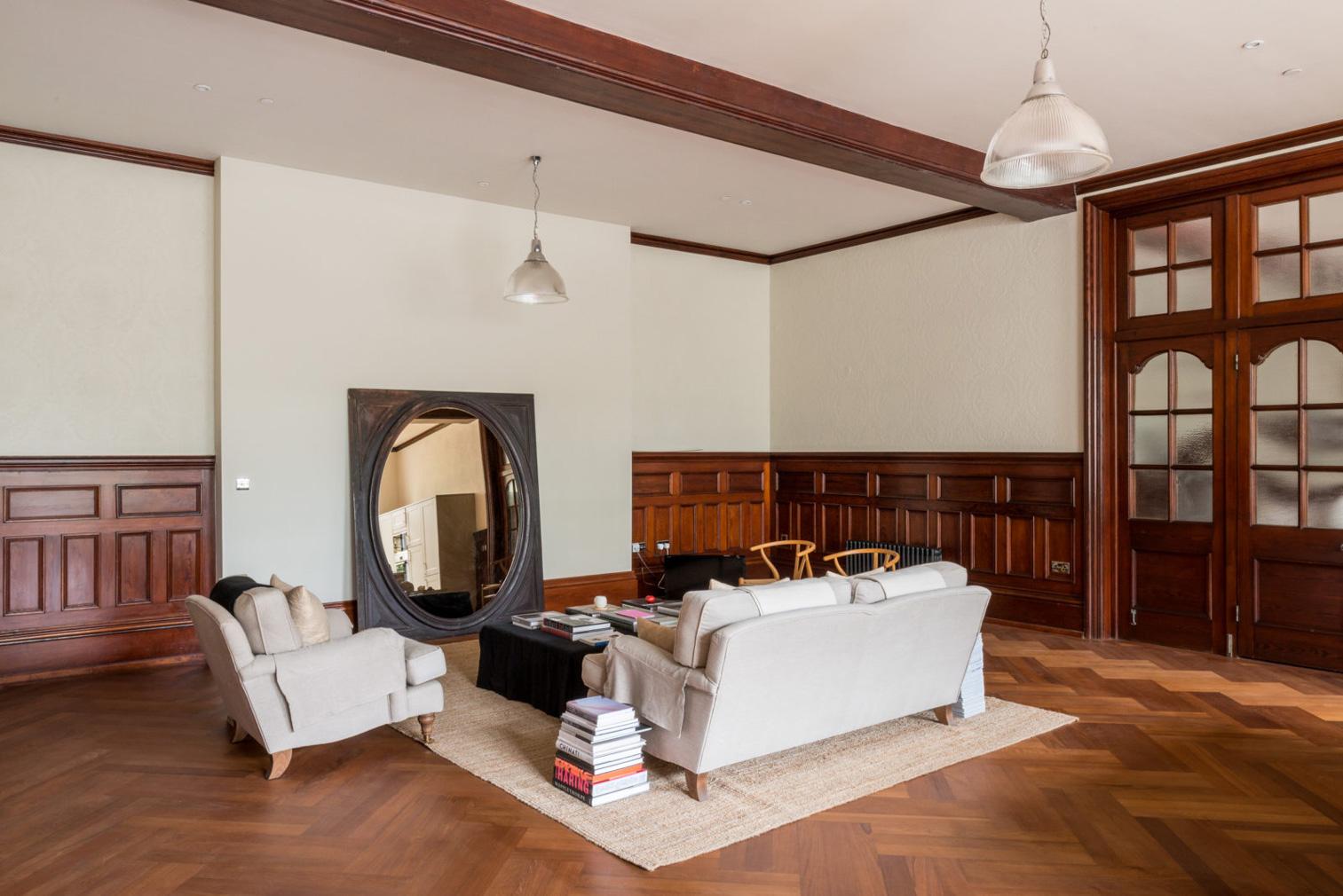 Elegant ballroom apartment hits the market in the UK's St Leonards-on-Sea