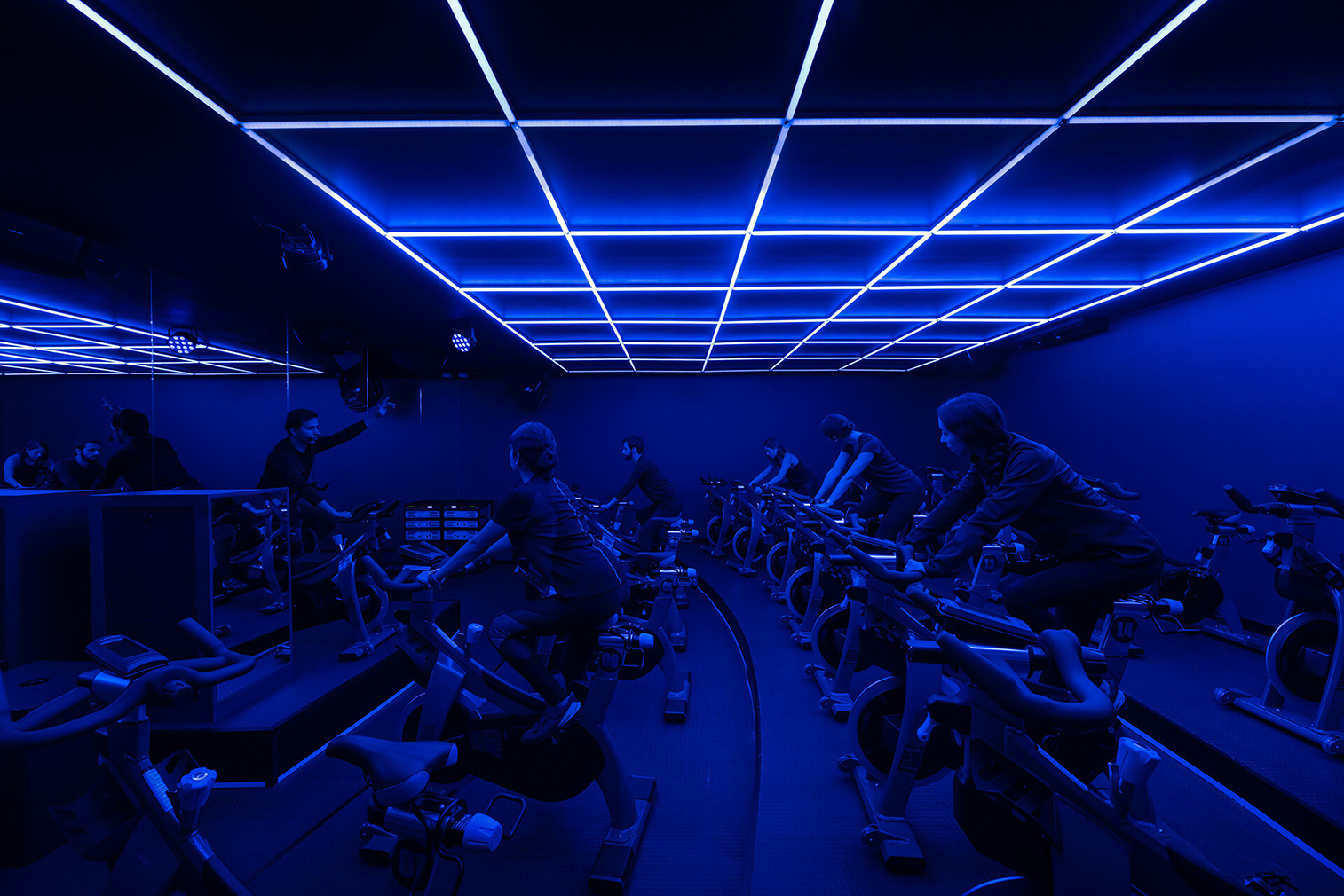 Gyms that raise the bar for design: Refuse spinning club