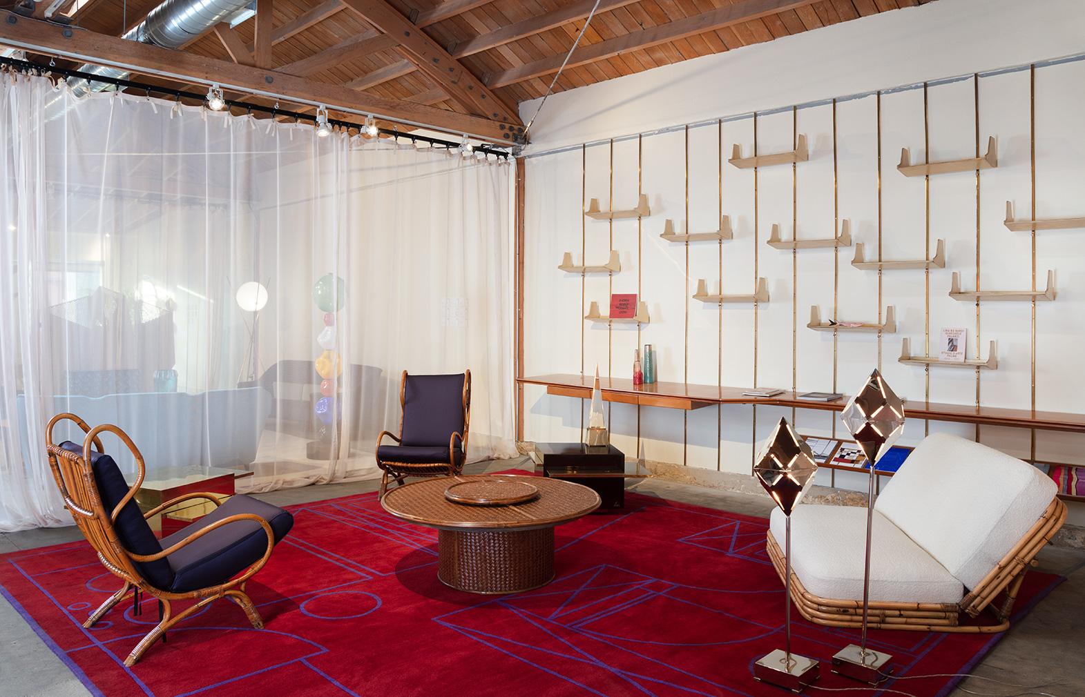 Nilufar Gallery's nomadic SQUAT exhibition pops up in Los Angeles