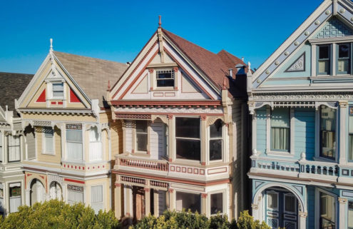 One of San Francisco's 'Painted Lady' homes has hit the market