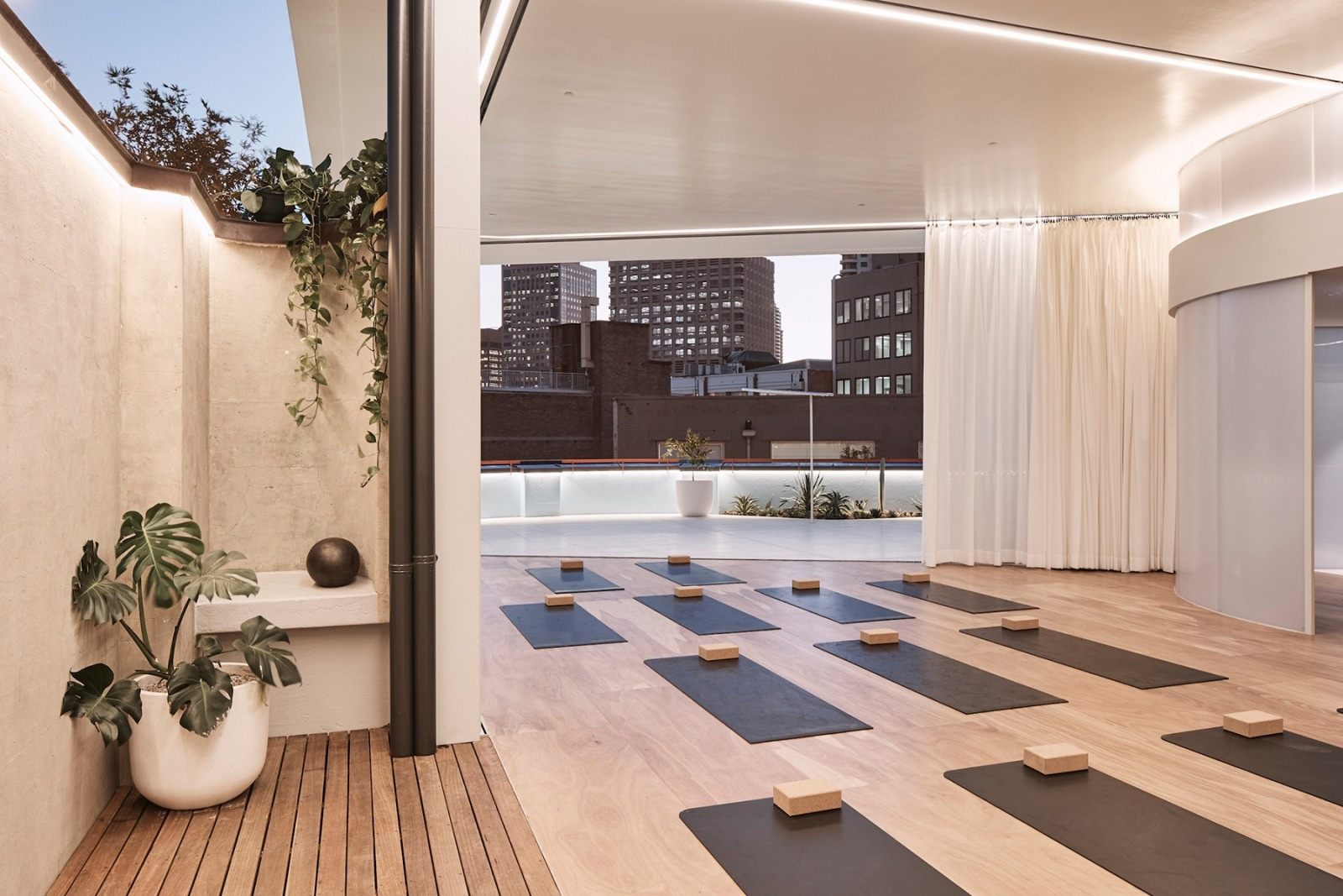 Gyms that raise the bar for design: Paramount Rec Club