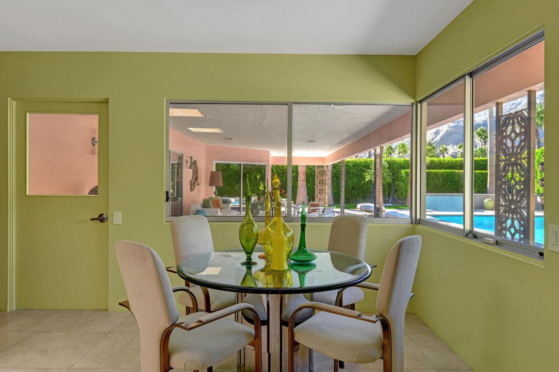 Pastel pink Palm Springs home by Albert Frey is for sale