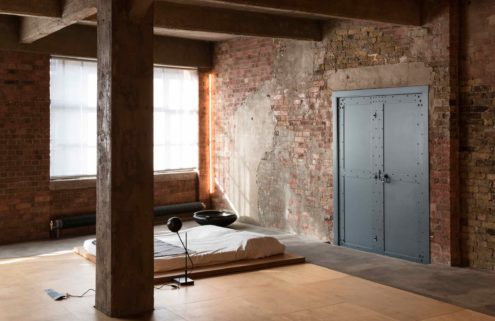 London loft with rugged industrial bones lists for £1.995m