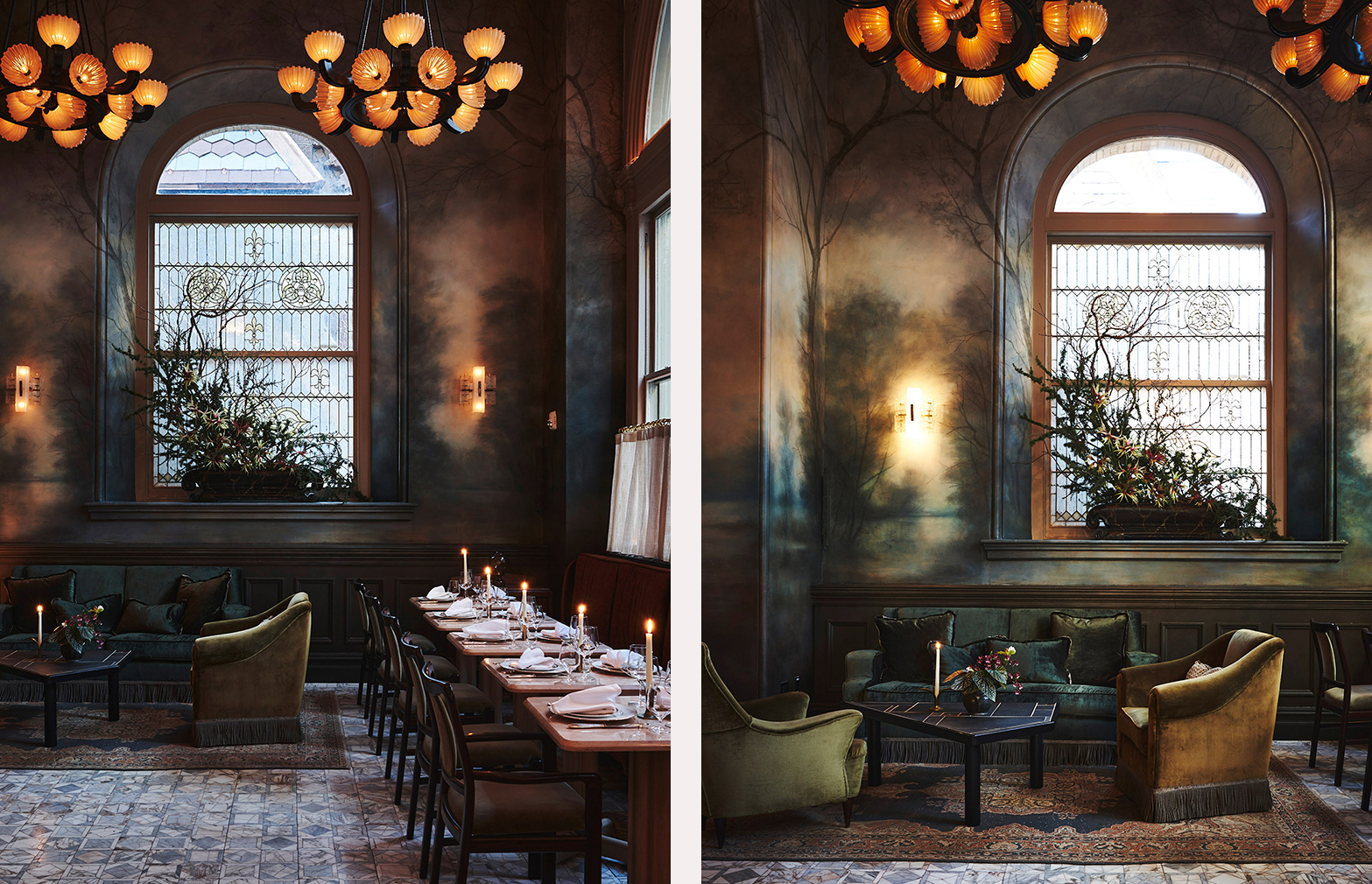 New York restaurant Verōnika is a grand mish-mash of eras and styles