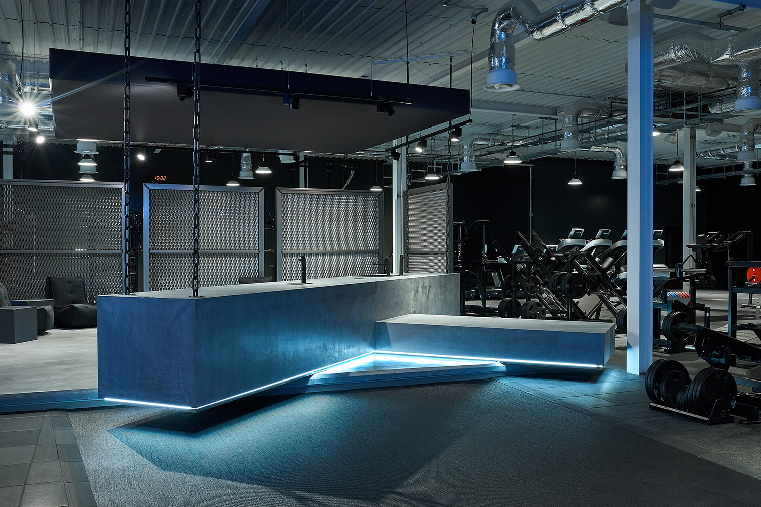 Gyms that raise the bar for design: Gymshark