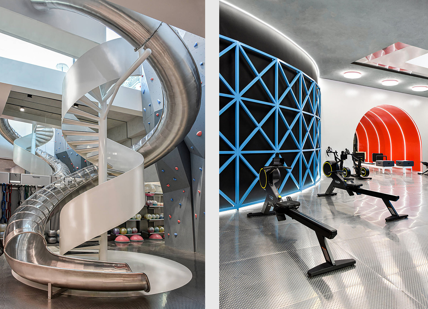 Gyms that raise the bar for design: M-Fit