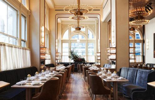 New York restaurant Verōnika is a grand mish-mash of eras and styles