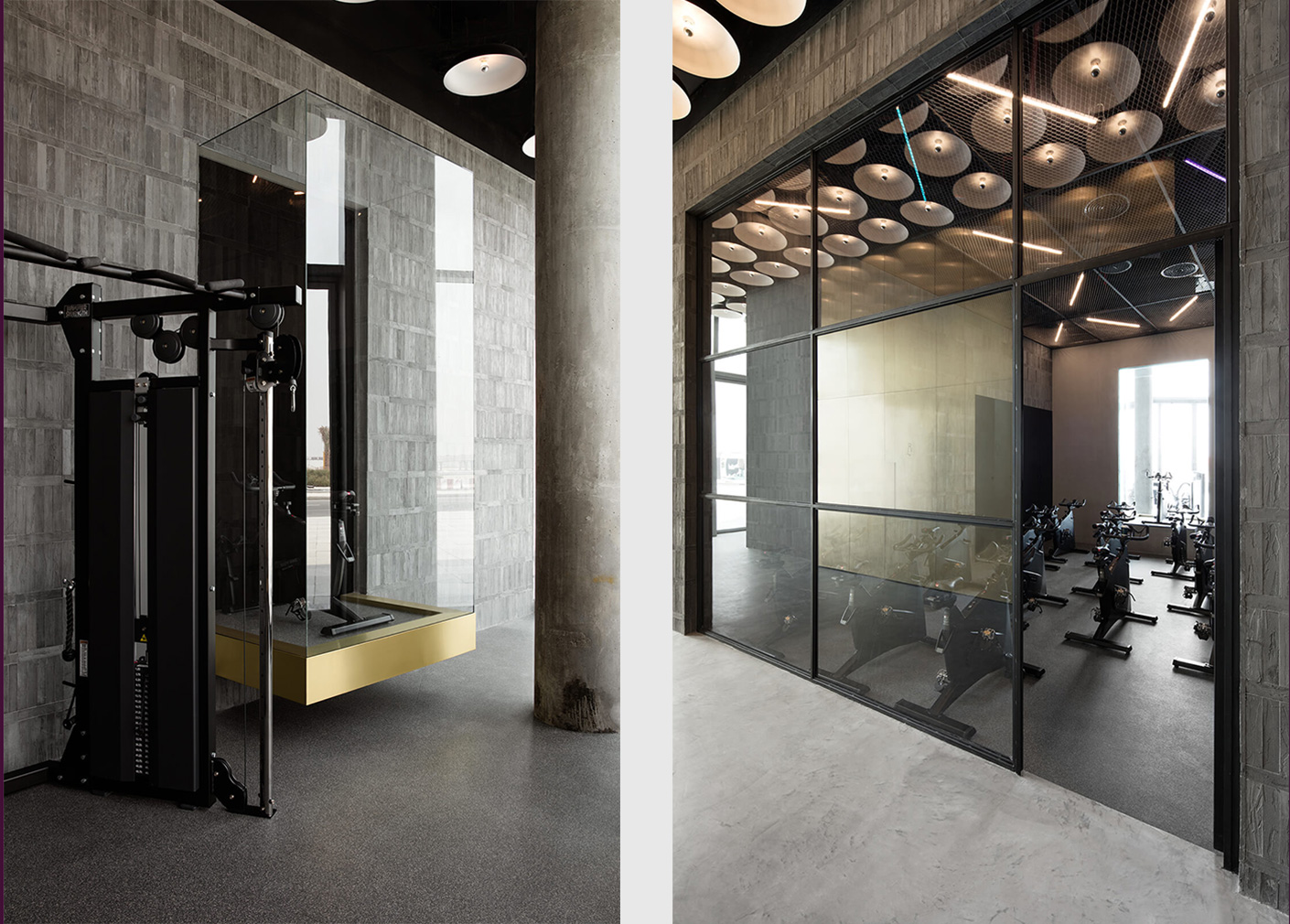 Gyms that raise the bar for design: Warehouse in Dubai