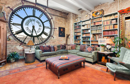 Live out your Gotham fantasies in this clocktower loft