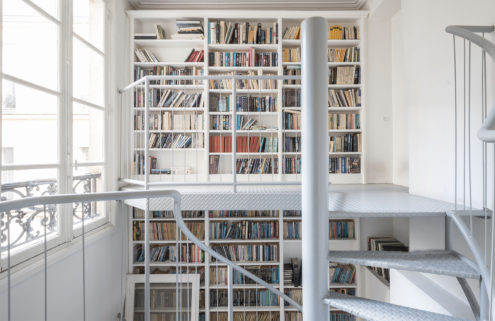 This €2.39m Paris duplex is an instant win for book-lovers
