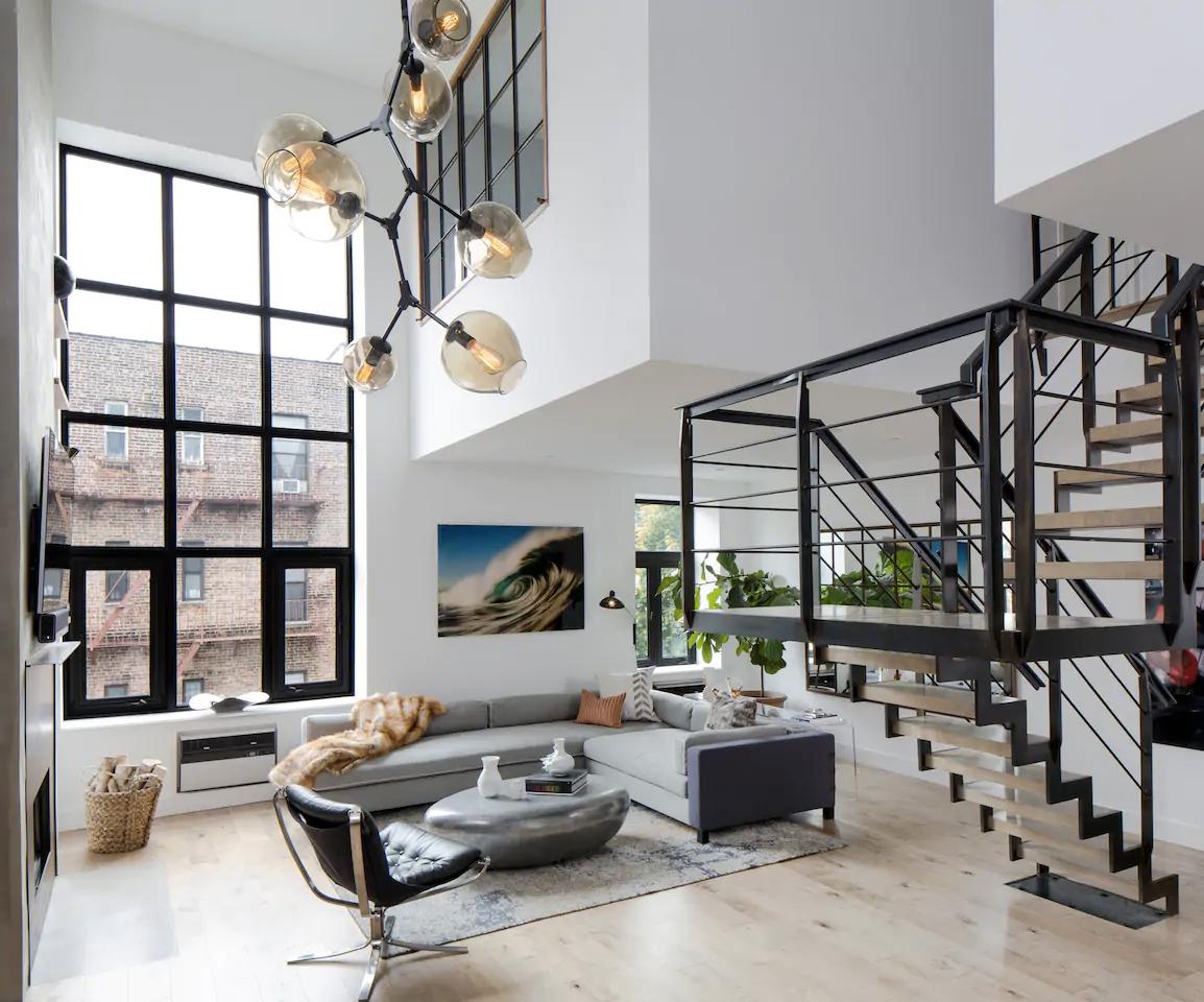 Duplex loft in Soho, Manhattan
