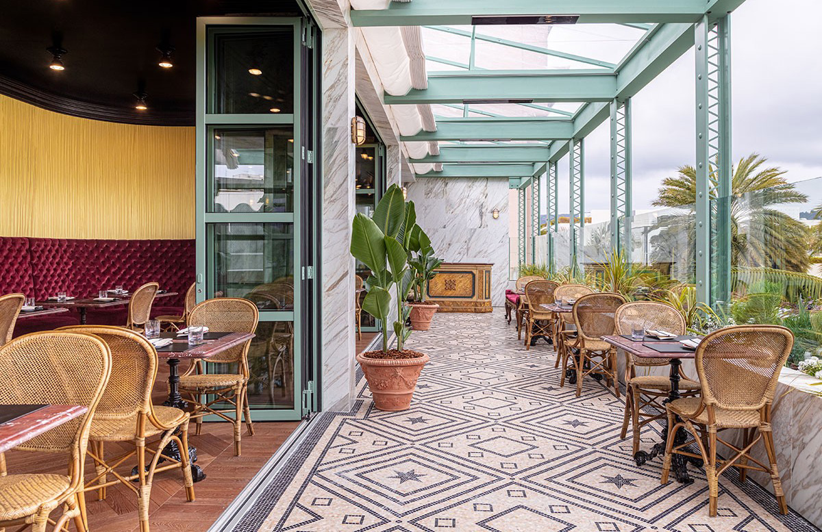 Gucci Opens Its First Us Restaurant On Rodeo Drive The