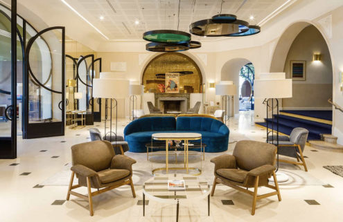 Art Deco jewel Hotel Imperator Nîmes shines again following refurb